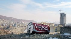 @cocacola look what artist Icy + Sot created... I love the scale.