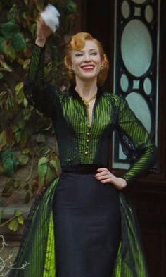 Cate Blanchett as the evil stepmother in Cinderella
