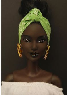 African American Beauty, African American Dolls, African Beauty, Black Girl Art, Black Girl Magic, Original Barbie Doll, Barbie Basics, African Dolls, Afro