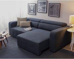 Sofá Extensível Gávea - Azul Escuro Oppa Design, Off White, Sofa, Couch, Furniture, Instagram, Home Decor, Sleeper Couch, Contemporary Style