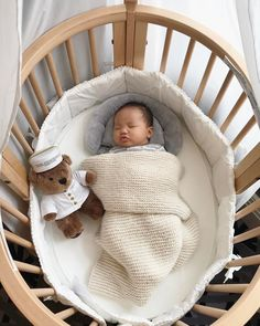 The Stokke Sleepi Mini Crib: A dreamy design that doesn't disappoint. #StokkeSummer #StokkeSleepi #kidsroom #nurserydecor #babyessentials : @patriciachangny