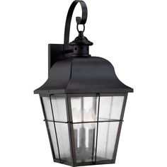 Millhouse Mystic Black Large Wall Lantern | Overstock.com Shopping - The Best Deals on Wall Lighting