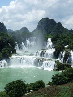 Detian Falls, Chongzuo, China