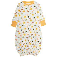 BuyFrugi Organic Baby Rainbow Bundler, Yellow, One size Online at johnlewis.com