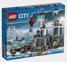 LEGO CITY Prison Island 60130: Toys Amazon http://fave.co/2cTXrQp