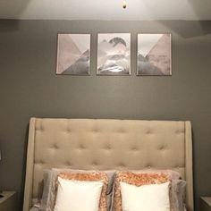 Dezer-Rae Foster added a photo of their purchase Gold Bedroom Decor, Modern Nursery Decor, Modern Wall Art, Blush Rosa, Blush Pink, Pink Grey, Navy Blue, Scandinavian Modern, Costco