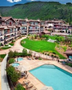 Manor Vail Lodge - Vail, Colorado #Jetsetter