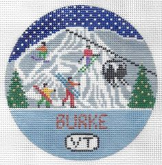 "Burke Mountain Round 4"" 18 mesh"