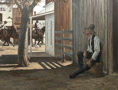 Western Art, Western Cowboy, Cowboy Art, Tabletop Rpg, Country Art, Old West, Cowboys, Westerns, Weird