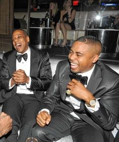 Nas Escobar and Young Hov! Probably my two of my favorite rappers...