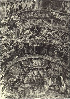 [Image: Dante's Inferno, as imagined by Barry Moser]. It would seem fitting, on Halloween, to take a quick look at the landscape architecture of Hell—its topography and geographical forms, pe… Dante Alighieri, Arte Obscura, Heaven And Hell, Arte Horror, Angels And Demons, Historical Photos, Occult, Dark Art, Devil