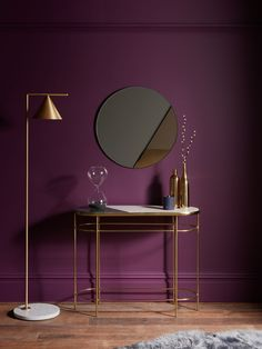 John Lewis & Partners + Swoon Sartre Marble Console Table at John Lewis & Partners Marble Console Table, Modern Console Tables, Led Furniture, Console Furniture, Purple Interior, Interior Decorating, Interior Design, Curtains With Blinds, Room Colors