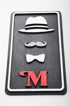 Toilet Vintage Wooden Bathroom Gents Sign Lavatory Male Home Man Gift