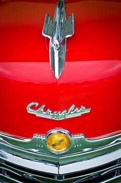 1949 Chrysler Town and Country Convertible Hood Ornament