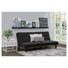 Futon Set - Black - Room Essentials™ : Target