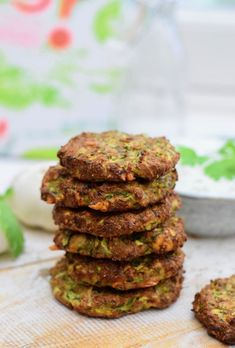 Zucchini Cookie Recipes, Healthy Cookie Recipes, Low Carb Recipes, Vegetarian Recipes, Zucchini Cookies, Good Food, Yummy Food, Tasty, Most Delicious Recipe