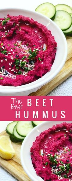 I'm not a huge beet fan, but I like it mixed into salads and other side dishes sometimes, but let me tell you this Beet Hummus is the bomb.com! Try it and let me know how you like it!