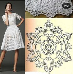Letras e Artes da Lalá Crochet Wedding Dresses, Crochet Summer Dresses, Crochet Skirts, Crochet Blouse, Crochet Clothes, Knit Dress, Débardeurs Au Crochet, Mode Crochet, Crochet Woman