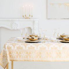 Ideias para uma mesa de Natal cheia de estilo