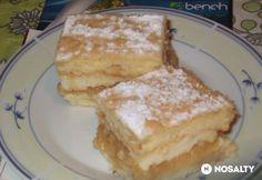 Vaníliakrémes-almás piskótakocka French Toast, Breakfast, Food, Morning Coffee, Essen, Meals, Yemek, Eten