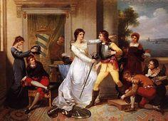 "Vieira Portuense: ""Dona Filipa de Vilhena""  1801 oil on canvas 2007: destroyed…"
