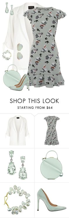 """""""Top Set 08/20/17 #2367"""" by gemique ❤ liked on Polyvore featuring River Island, Oasis, Tammy & Benjamin, Stuart Weitzman and Tiffany & Co."""