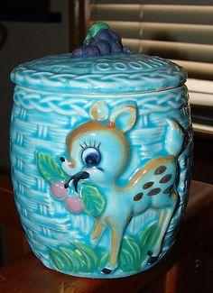Blue Bambi Cookie Jar by ♥♥ Sugar Lemon ♥♥, via Flickr