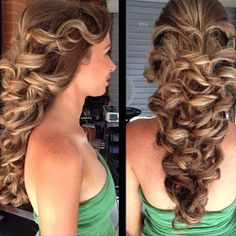 Hairstyles for curly hair: Hairstyles for long curly hair 2013