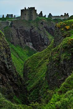 """wanderthewood: """"Dunnottar Castle, Aberdeenshire, Scotland by """" Beautiful Castles, Beautiful World, Beautiful Places, Scotland Castles, Scottish Castles, Places To Travel, Places To See, Places Around The World, Around The Worlds"""