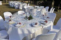 Allestimento esterno Villa, Table Decorations, Weddings, Furniture, Home Decor, Decoration Home, Room Decor, Wedding, Home Furnishings