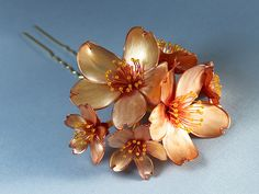 Cherry Blossom Resin Kanzashi