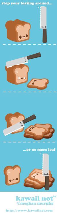 Loafing Around (Kawaii Not Comic)