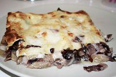 lasagna radicchio e speck