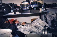 Kimi Raikkonen - Nap time