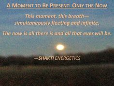 Find presence and mindfulness in your life.  Book a meditation training or a personalized retreat with Shakti Energetics.  Learn more at: http://www.shakti-energetics.com/workshops-retreats/