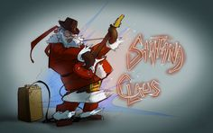Santana Claus by greeni-studio on DeviantArt