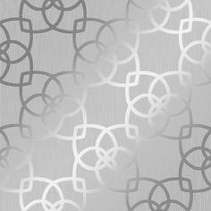 Muriva Precious Silks Marrakesh Wallpaper Silver, Grey - Wallpaper from I Love Wallpaper UK Striped Wallpaper Gray, Blue And Gold Wallpaper, Metallic Wallpaper, Damask Wallpaper, Geometric Wallpaper, Vinyl Wallpaper, Room Wallpaper, Textured Wallpaper, Pattern Wallpaper