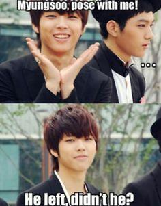 Infinite woo hyun and myung soo