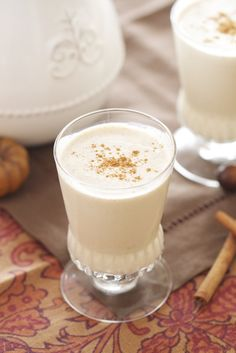 Epicurean Mom: Egg Nog {Greetings to the start of Fall}