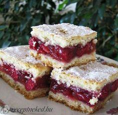 recept egyenesen a Receptneked. Gourmet Recipes, Sweet Recipes, Baking Recipes, Cookie Recipes, Hungarian Desserts, Hungarian Recipes, Fun Desserts, Dessert Recipes, Kolaci I Torte