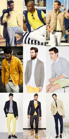 Men's Yellow SS13 Lookbook
