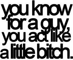 This is true for a lot of guys I know
