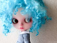 One Customized OOAK Blythe Doll Bubbles by Dakawaiidolls on Etsy, $400.00
