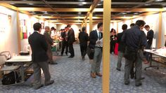 View of the surroundings at Sansokan's Business Matching Event held on November 19, 2012 in Osaka.