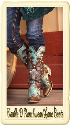 Double D Ranch Ammunition Boots by Lane Boot Company  From Smith and Western
