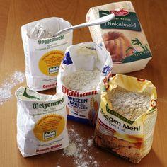 Mehl Sorten / Warenkunde