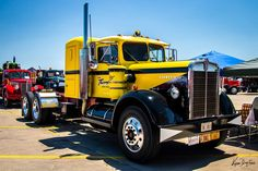 Cool Trucks, Big Trucks, Kenworth Trucks, Buses, Old And New, Vehicles, Car, Big Rig Trucks, Vehicle
