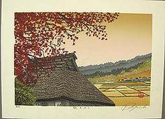 """Shufu Miyamoto """"Maples Leaves of Fall"""""""