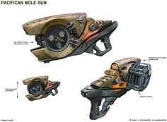 Weapon Art.  Buzz Saw Gun.  I can't think of a practical use for this, but it's still awesome