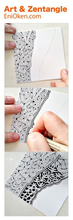 Morphing Zentangle • enioken.com